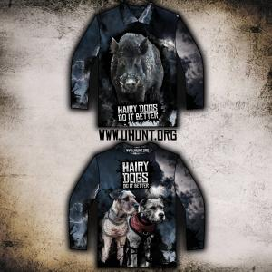 PRE-ORDER-HAIRY DOGS SHIRT