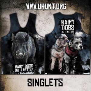 HAIRY DOG SINGLET